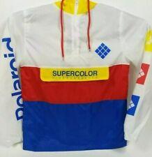 Adidas Polaroid Supercolor Windbreaker Jacket Men's Large NWT MSRP $100
