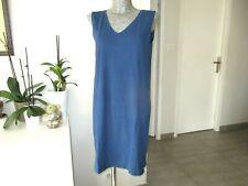 robe d'été taille XXL 42 44 C&A bleu stretch woman summer dress us 16 uk 20