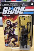 """G. I. Joe Retro Collection Snake Eyes Hasbro 3.75"""" Figure NIB Bubble Is Loose"""