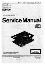 Service Manual-Anleitung für Philips CDM-2