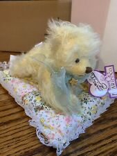 Annette Funicello Yellow Mohair Bear Sally. Of Dream Keepers Series.with Box/tag