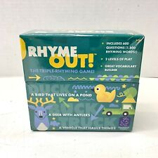 Rhyme Out Triple Rhyming Game Educational Insights Great for New Readers Nsp