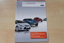 75996) Ford Ka - Fiesta - Focus - S-Max - Select - Prospekt 10/2010