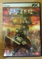 GIOCO PC DVD - AFTER THE WAR - USATO PARI AL NUOVO, MANUALE ITALIANO