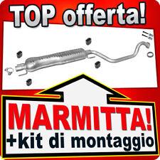 Scarico OPEL ZAFIRA A 2.0 DI DTI 60/74 kW 1999-2005 Marmitta DEH