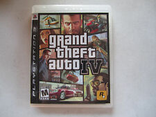 Grand Theft Auto IV 4 COMPLETE w/ MAP NRMT Sony Playstation 3 PS3
