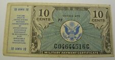 USA (Military Payment Certificate) 10 Cents ND(1948) - Series 472 - Pick M16