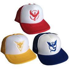 Pokemon Hats Polyester Baseball Caps for Men