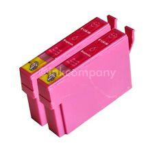2 kompatible Tintenpatronen magenta für Drucker Epson SX435W SX130 SX125