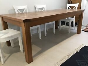 Dining Table solid timber