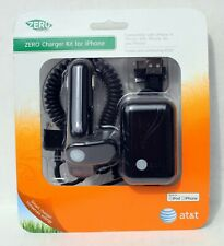 iPhone Charger Kit (Wall & Car) – Compatible w/ iPhone, 3G, 3GS & 4, iPod – NOS