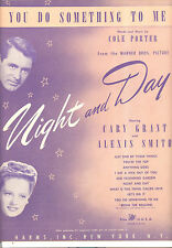 "Night And Day Sheet Music ""You Do Something To Me"" Cary Grant Alexis Smith"