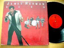 JAMES HARMAN BAND- THANK YOU BABY 1983 ROCK N BLUES HOLLYWOOD FATS KID RAMOS NM!