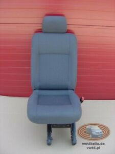 VW T5 Transporter Anthracite DUO rear seat single right side t6