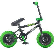 Rocker Irok+ Mini Main Mini BMX Bike Black Green Pro Tyres Rare Free UK Delivery