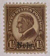 Travelstamps: 1929 Us Stamp Scott# 659 Kans. Overprint Harding Mint, Og, Lh