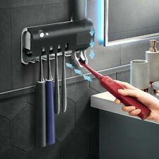 UV Light Sterilizer Toothbrush Holder Wall Mount Toothpaste Automatic Dispenser*