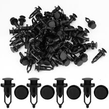 10pcs Car Fender Retainer Plastic Clips Fastener Rivet Black For Lexus Toyota