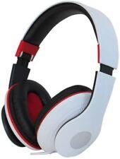 Pro Signal - Headphone Hi-Fi Deluxe White Foldable