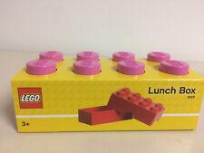 LEGO STORAGE 4023 PINK LUNCH BOX NEW STILL SEALED 200 x 100x 75 mm