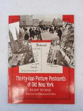 Hayward Cirker THIRTY-TWO PICTURE POSTCARDS OF OLD NEW YORK Ready to Mail 1976