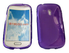 Shockproof Gel Case Protector Cover For Samsung Galaxy S3 Mini GT i8190 Purple