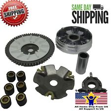 50cc Variator Set GY6 Scooter ATV QMB139 QMA139 7 Gram Roller Front Clutch