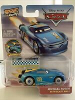 Disney Pixar Cars - Rocket Racing Michael Rotor with Blast Wall Official Diecast