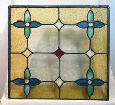 stained glass window; lead glass window