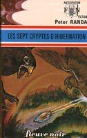 Livre Peter RANDA No 632 les sept cryptes d'hibernation book