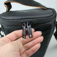 DSLR SLR Camera Shoulder Bag For Nikon Canon Waterproof Black Nylo B9P9