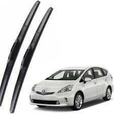 Genuine OEM Front Windshield Wiper Blades Set For 2012-2018 TOYOTA Prius V Wagon
