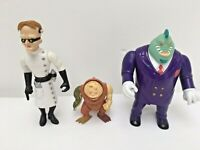 Vintage Biker Mice from Mars x3 Retro Action Figures Bundle 90s Galoob Toys