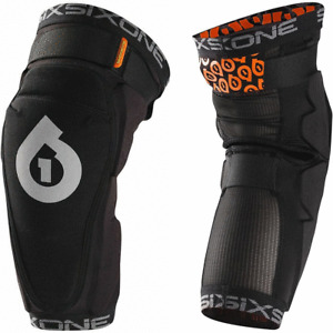 661 SIXSIXONE RAGE KNEE MTB BIKE BMX pads protectors leg guards Pair