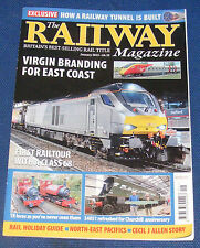THE RAILWAY MAGAZINE JANUARY 2015 - VIRGIN BRANDING FOR EAST COAST
