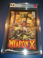 Weapon X #12 3D Variant CGC 9.8 NM/M Gem TPB #1 Homage Wolverine Old Man Logan!