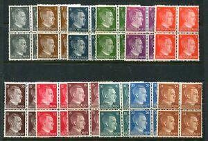 Germany MNH #506-517 Hitler heads  ,  X7526