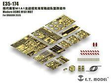 ET Model 1/35 #E35174 Modern USMC M1A1 MBT Detail Up Set for Dragon 3535