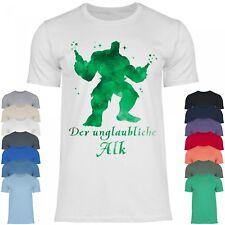 Royal Shirt a1 Herren T-Shirt Der unglaubliche Alk lustiges,cooles Party T-Shirt