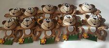 "10pcs  4"" Baby Shower Safari/Jungle Monkey Animal Decorations Girl/Boy"