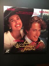 Rare Laserdisc - 4 Weddings And A Funeral - Hugh Grant