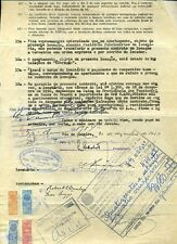 BRAZIL TESOURO NACIONAL RIO DE JANEIRO 1952/57