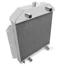 Champion 3 Row Aluminum Radiator CC49FH For 1949-53 Ford Cars Flat Head Engines