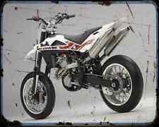 Husqvarna Sm 450Rr 2 A4 Metal Sign Motorbike Vintage Aged