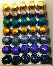 65 Nespresso Genuine Capsules Pods 22 different flavors - SAVE $5 WHEN YOU BUY 2