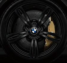 "BMW F10 M5 OEM Genuine Style 343 20"" M5 M Double Spoke Forged Wheels Matt Black"