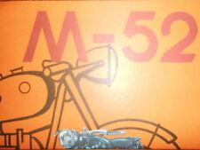Prospekt Sales Brochure DNEPR-Bural M-52 BMW R12 R71 Technische Daten