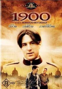 1900 DVD 1976 Mini Series 5 HOURS - Gerard Depardieu Robert De Niro AUST REGION4