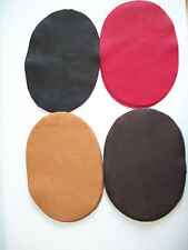 REAL DEERSKIN LEATHER ELBOW PATCH KIT -  LARGE = 7'' BY 5''    MADE IN THE USA