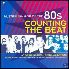 80's (2 CD) COUNTING THE BEAT - AUSTRALIAN POP OF THE 80's - Volume 1 *NEW*